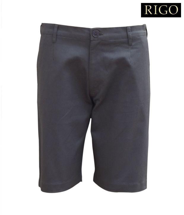 Rigo Grey Cargo Shorts