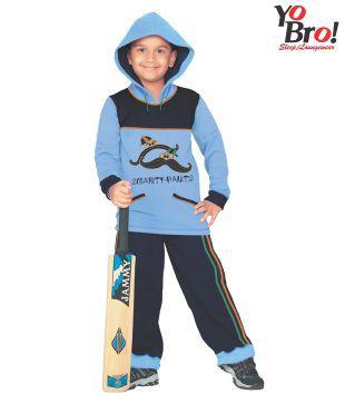 Yobro Blue & Navy Night Suit For Kids
