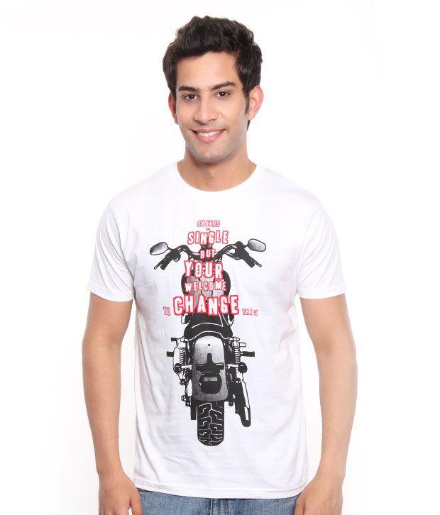 Free Spirit Cool White Men's T-Shirt