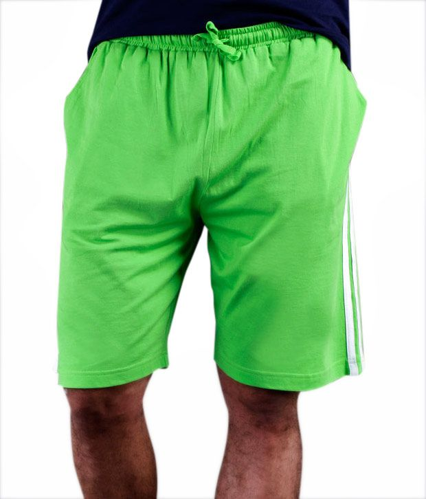 Freecultr Light Green Bermuda Shorts