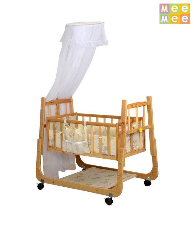 Mee Mee Baby Cradle_Wooden
