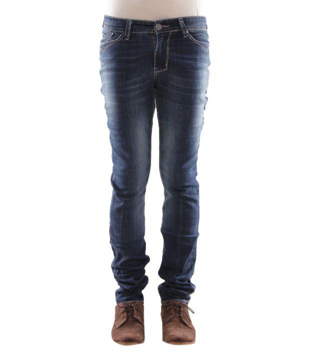 Zaab Jeans Dark Blue Jeans