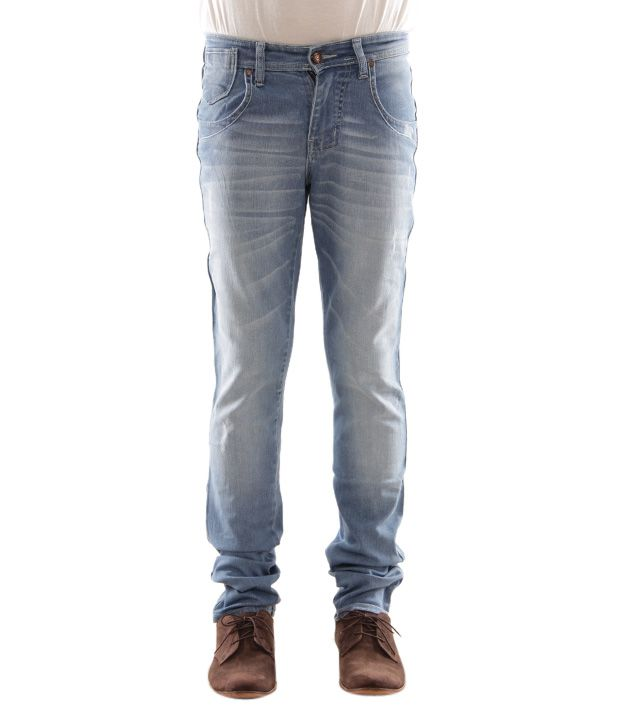 Zaab Light Blue Men's Jeans