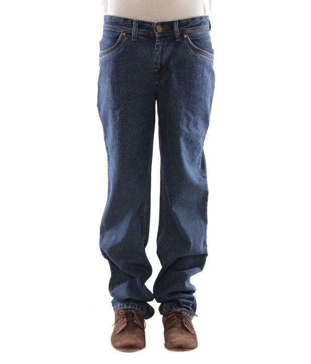 Zaab Cool Blue Men's Jeans