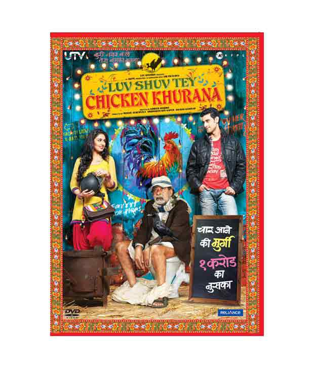 Luv Shuv Tey Chicken Khurana (Hindi) [DVD]