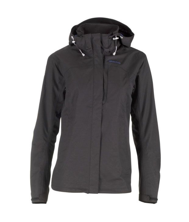 Quechua Hiking Arpenaz-300L-Black Rain Wear 8127656