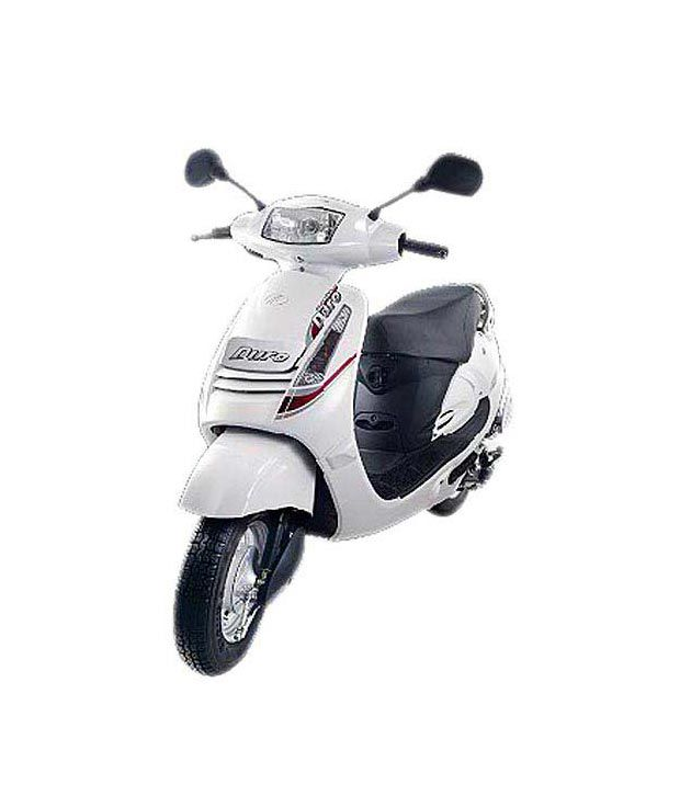 Mahindra Duro - Two Wheeler  (125cc) - Pearl White (On Road Price)