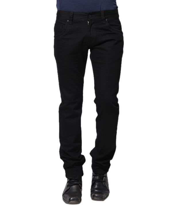 Sand Dunes Black Jeans
