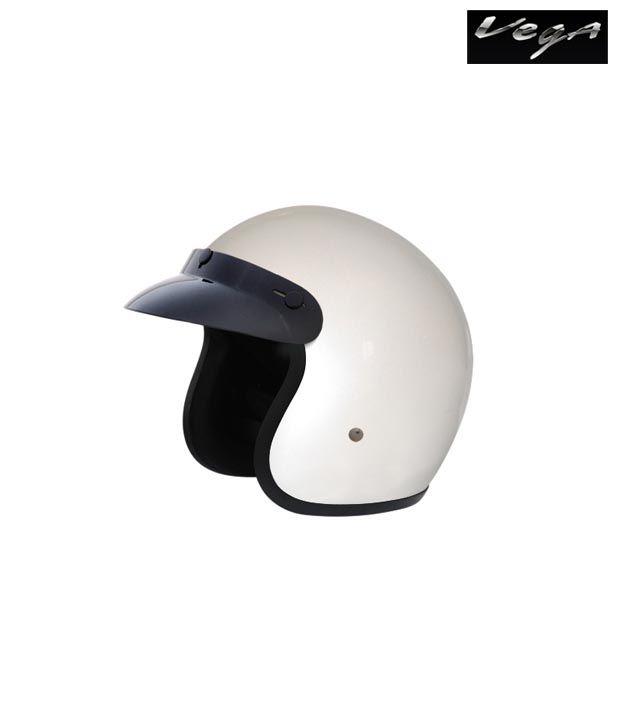 Vega Helmet - Jet - White