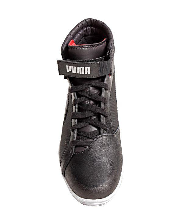 Puma Black Sneaker Shoes - Buy Puma