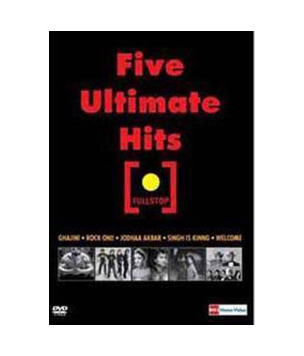Five Ultimate Hits (Hindi) [DVD]