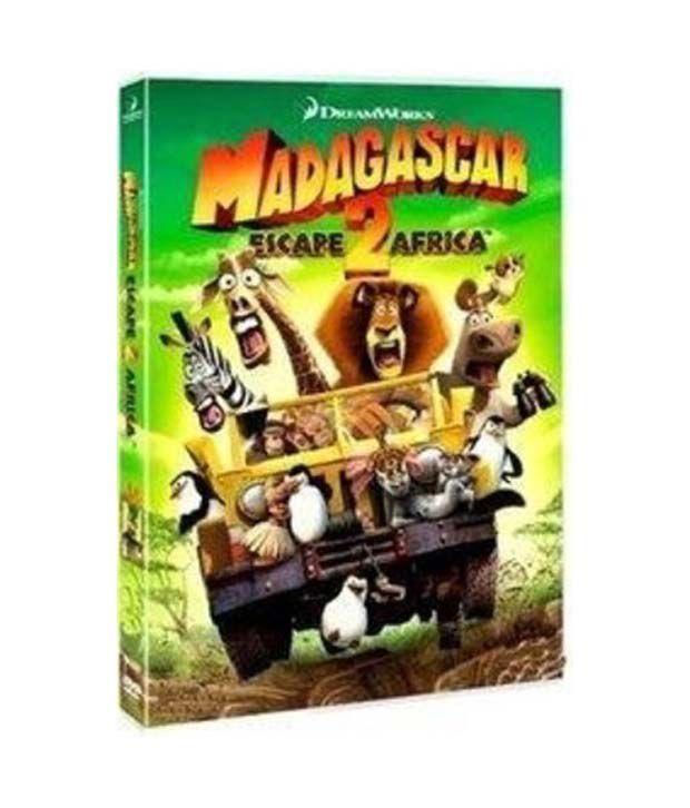 Madagascar 2: Escape 2 Africa (English) DVD