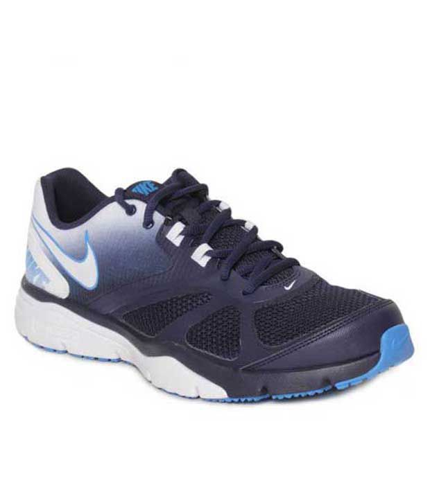 Nike Dual Fusion Tr  Navy Blue Running Shoes
