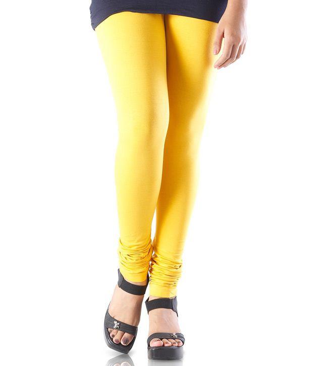 Abhishti Yellow Leggings