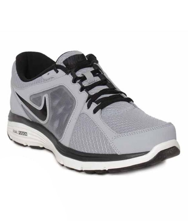 4ba1fd30bf03 Nike Dual Fusion Run MSL Grey Running Shoes - Buy Nike Dual Fusion Run MSL  Grey Running Shoes Online at Best Prices in India on Snapdeal