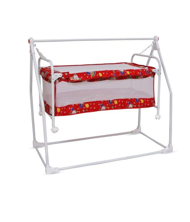 Bajaj Baby Cradle Cum Cot - Red