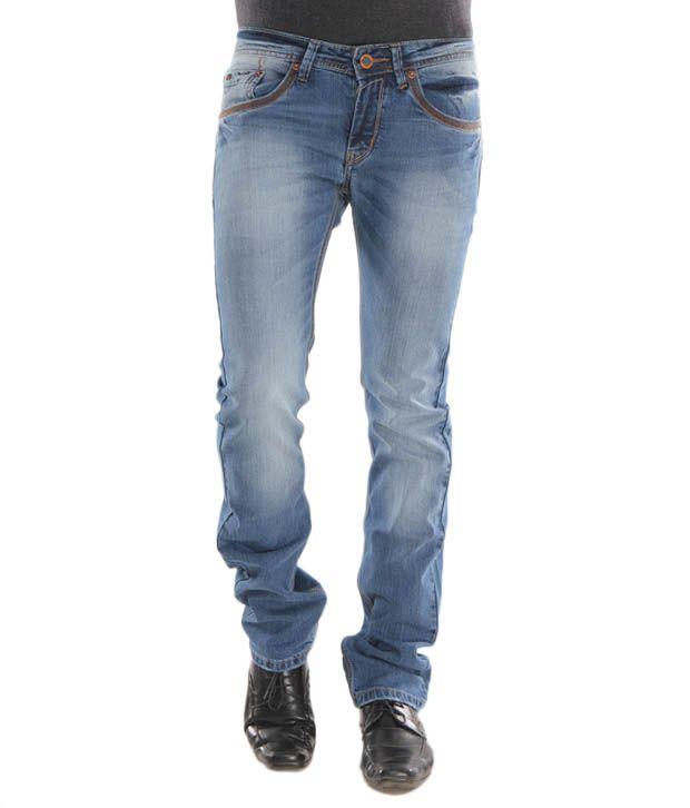 Lemax Blue Stylish Men's Jeans