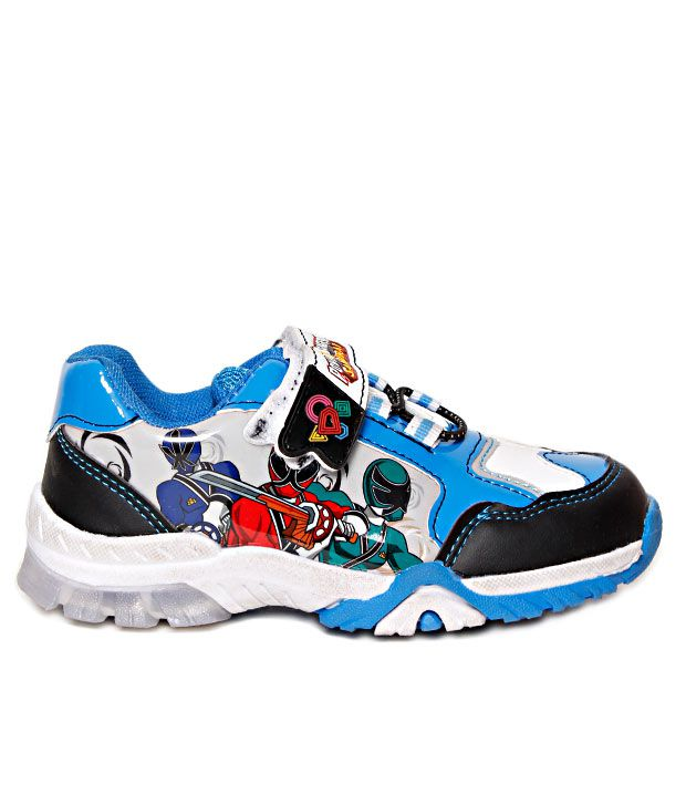 Power Rangers Blue Amp Black Casual Shoes For Kids Price In