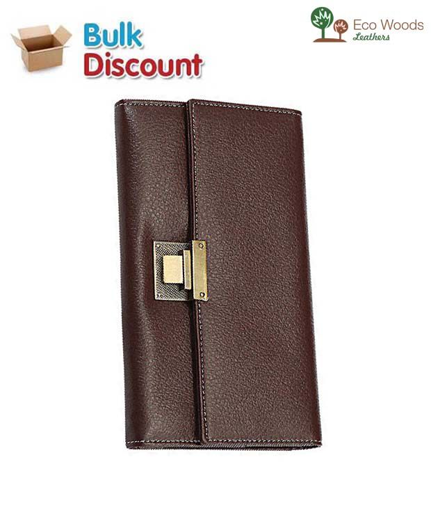 Eco Woods Leathers German Passport Holder (PI-645) (Pack of 10 pcs)