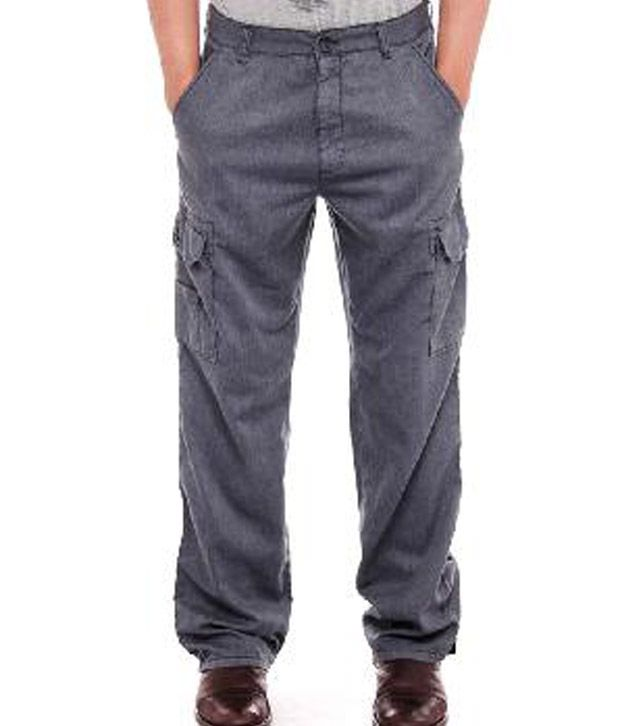 Luck by Chance Grey Men Cargo