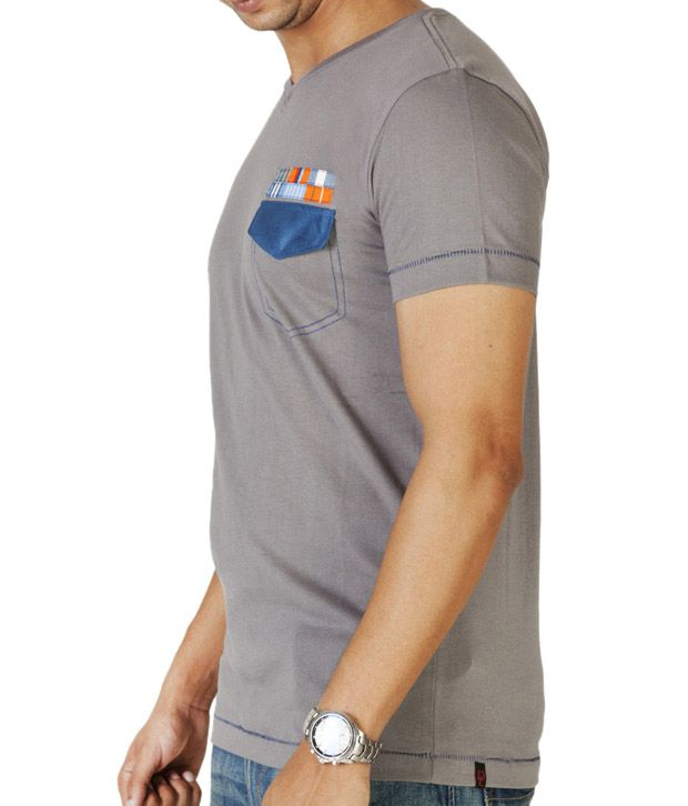 Dirty Laundery Dark Grey Men T-Shirt