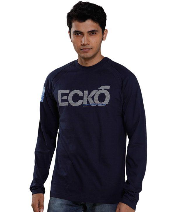 Ecko Classic Navy Blue T-Shirt