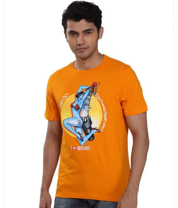 Ecko Vibrant Orange T-Shirt
