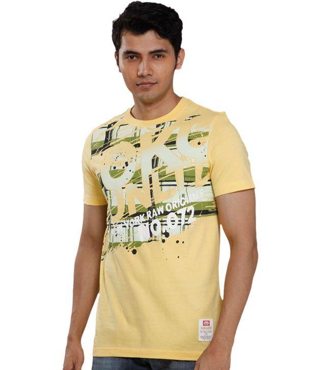 Ecko Classic Yellow T-Shirt
