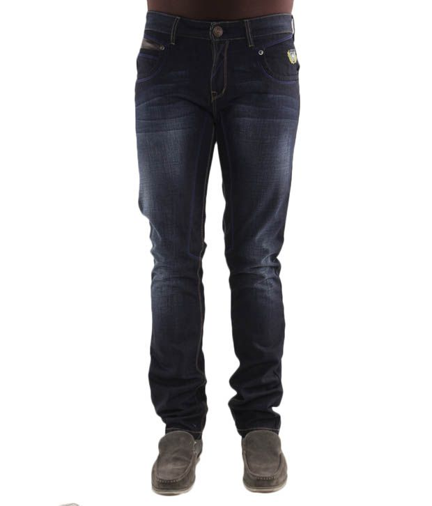 Jogur Rich Dark Blue Slim Fit  Jeans