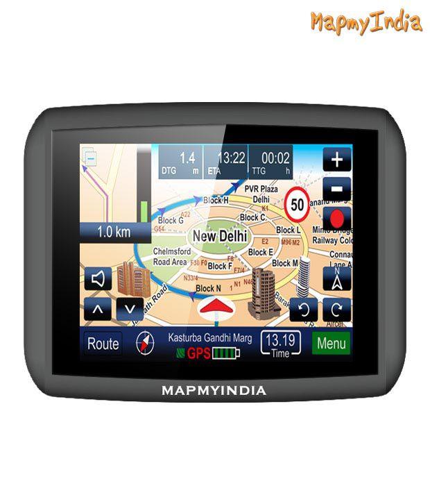 MapmyIndia - RoadPilotII Premium - 3.5'' Touchscreen