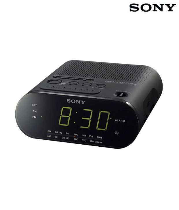 Buy sony icf c218 fm am clock radio online at best price for Icf pricing