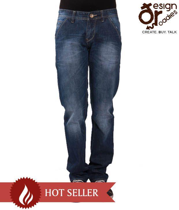 Design Roadies Smart Light Blue Men's Jeans