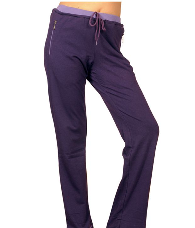 Monte Carlo Purple Zipper Lower