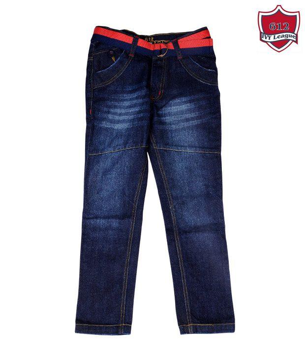 612Ivyleague Smart Blue Jeans