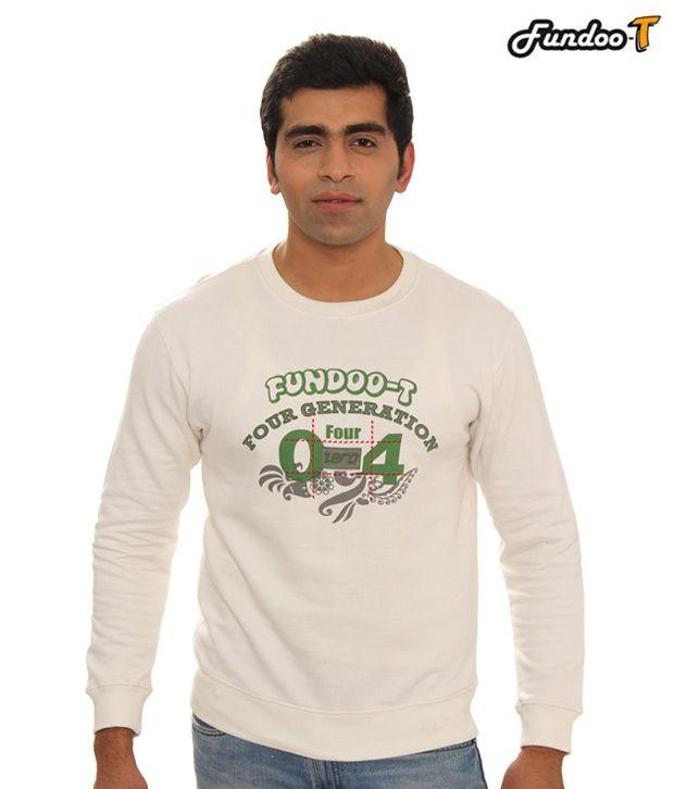 Fundoo-T White T-Shirt