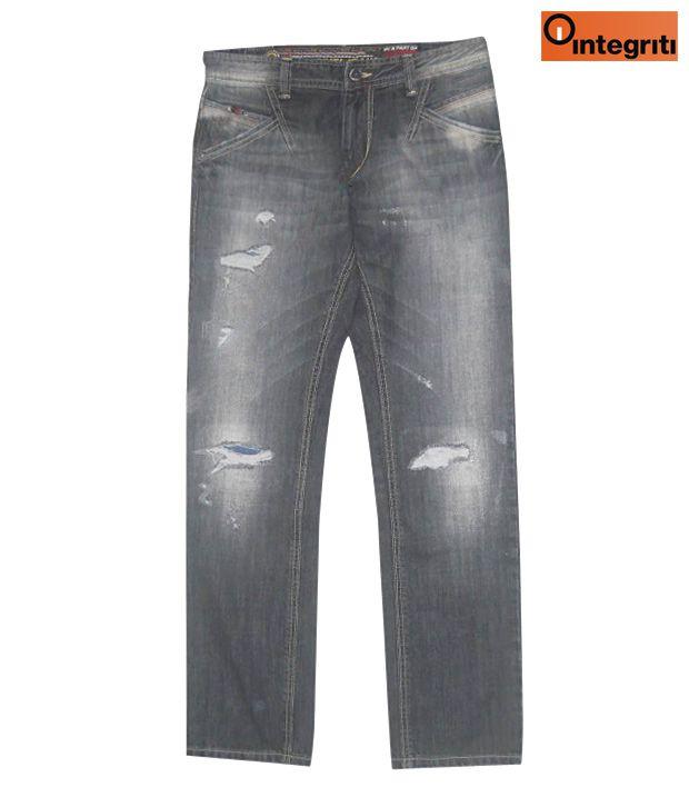 Integriti Light Black Men's Jeans