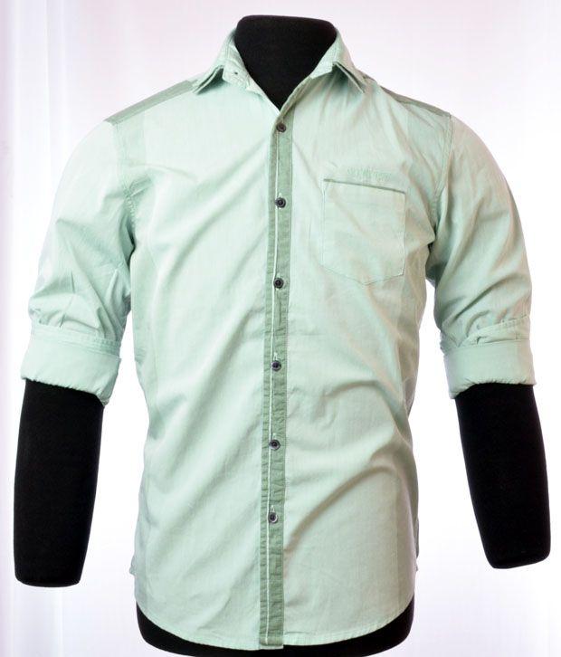 So Design Light Green Shirts