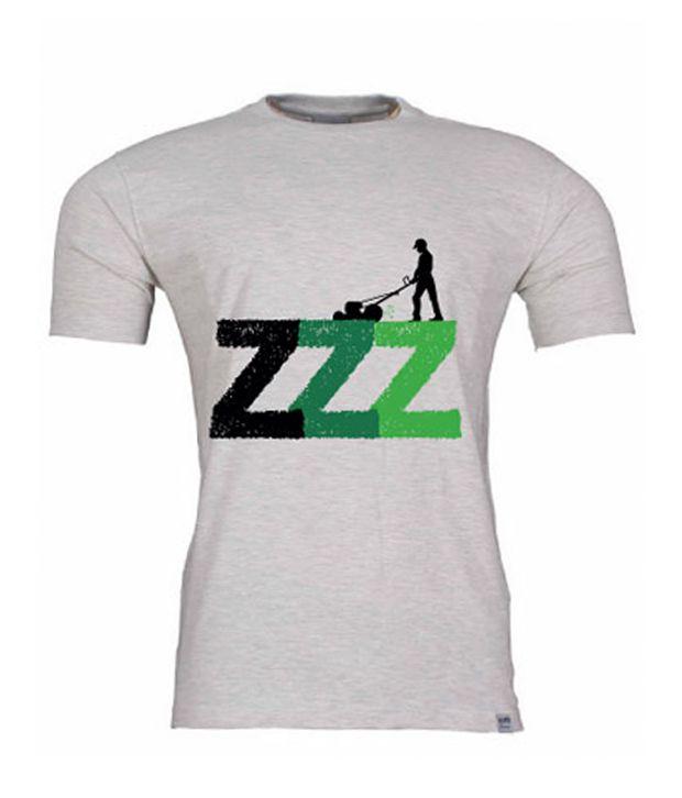2M Smart Z Green & Grey T-Shirt