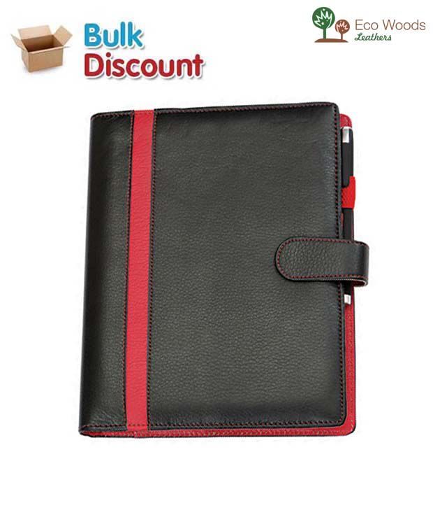 Eco Woods Leathers Executive Planner (PI-652) (Pack of 10 pcs)