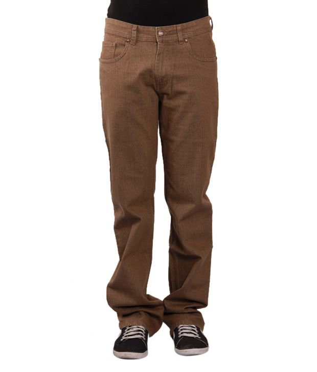 Urban Navy Light Brown Jeans