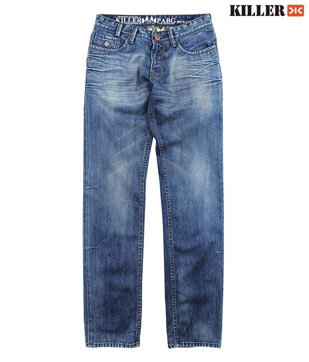 Killer Dark Blue Men's Jeans