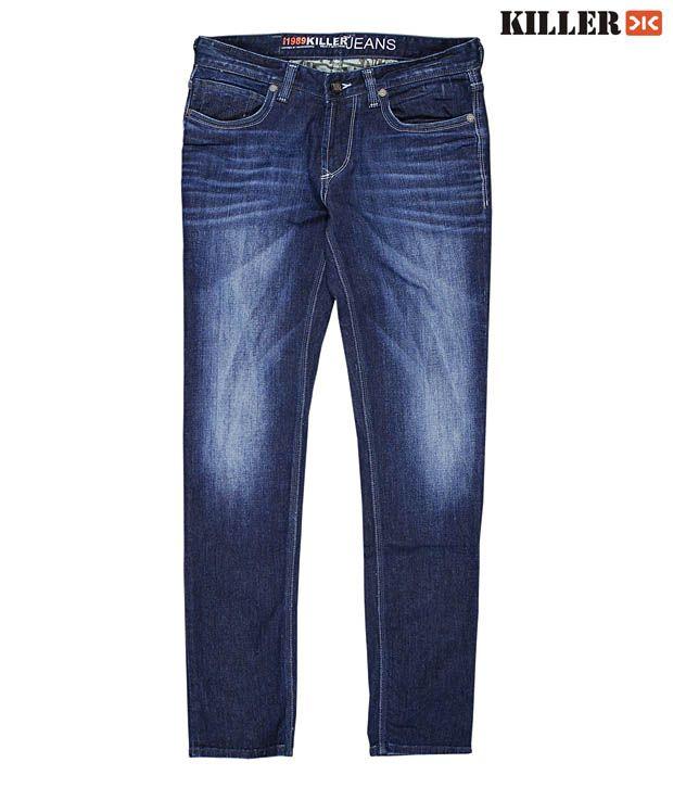 Killer Cool Dark Blue Men's Jeans