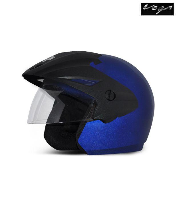 Vega Helmet - Cruiser With Peak -  Blue