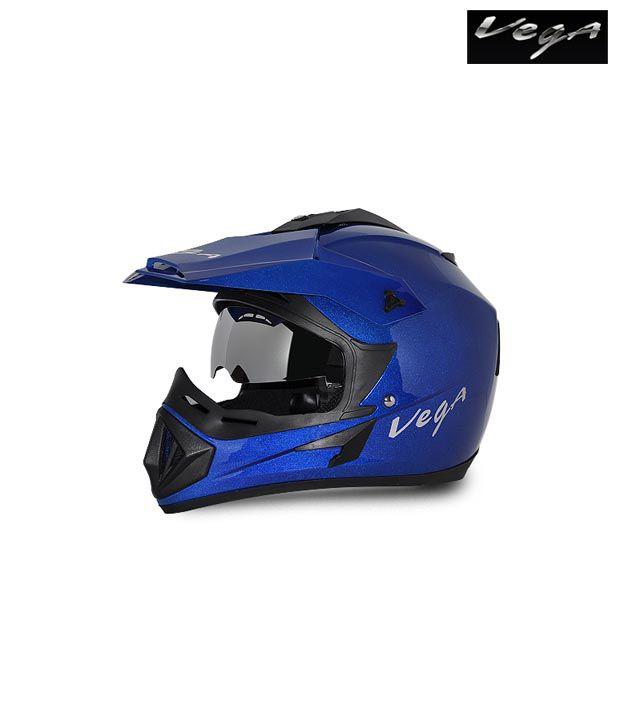 vega helmet off road blue buy vega helmet off road blue
