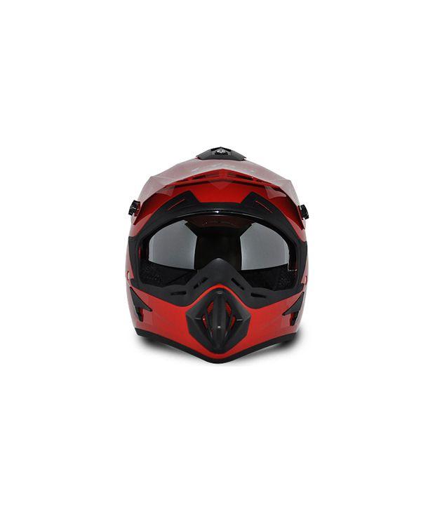 a0e4fce1 Vega Helmet - Off Road (Red): Buy Vega Helmet - Off Road (Red ...