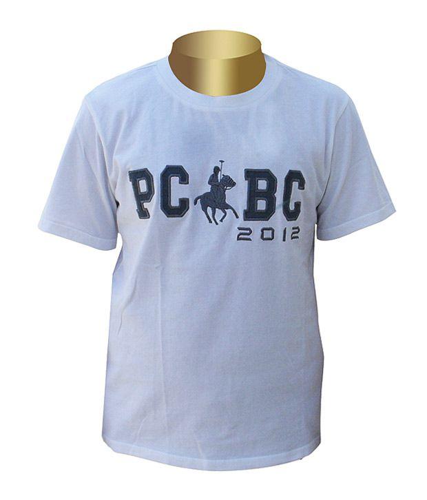 Polo Club of British Columbia White Round T Shirt