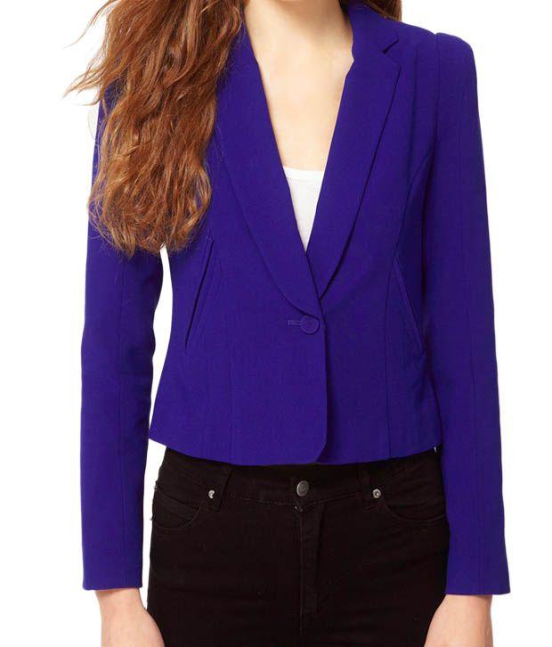 Lieben Mode Happening Royal Blue Waist Coat