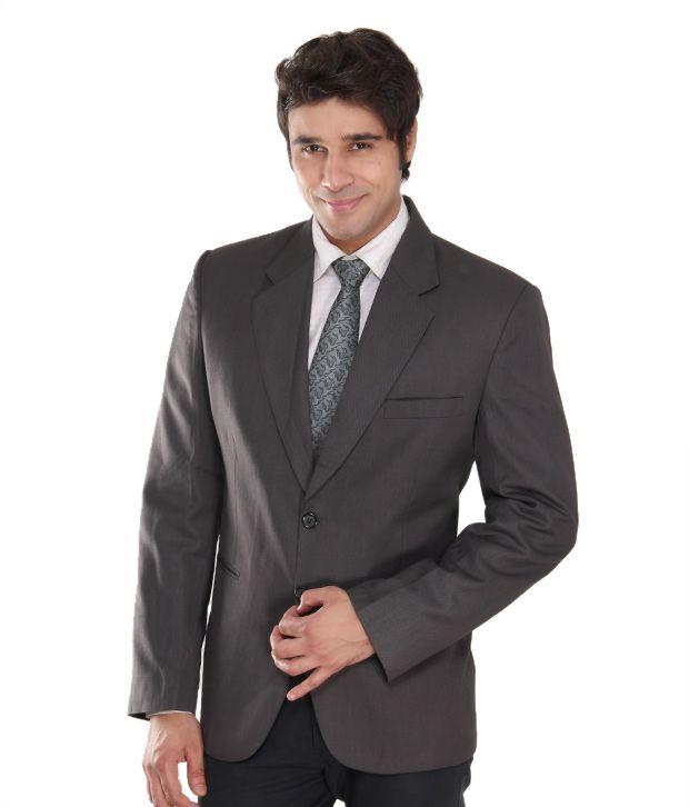 Westlife Imperial Grey Men's Blazer