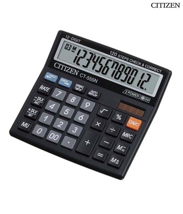 Citizen CT-555N Basic Calculator
