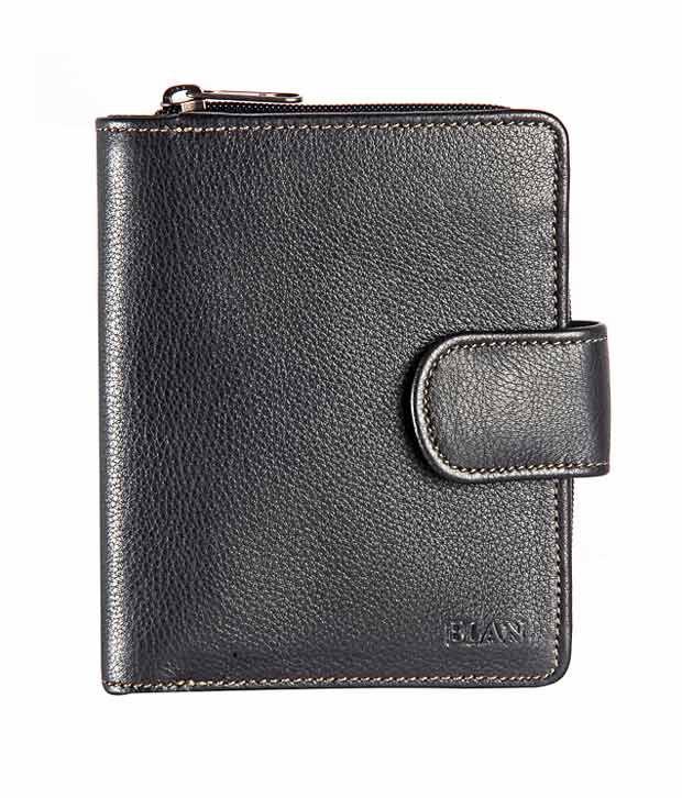 Elan Radiant Black Ladies Wallet
